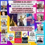 Genitori FERMATEVI! Flash Mob 8.4.2021 Regione Lombardia – Milano
